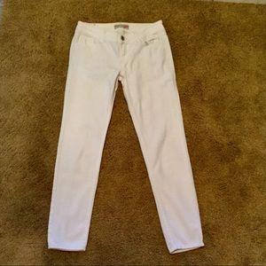 Paris Blues White Straight Leg Jeans
